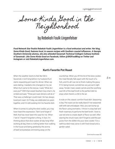 Page 35 of Some Kinda Good in the Neighborhood: Kurt's Favorite Pot Roast