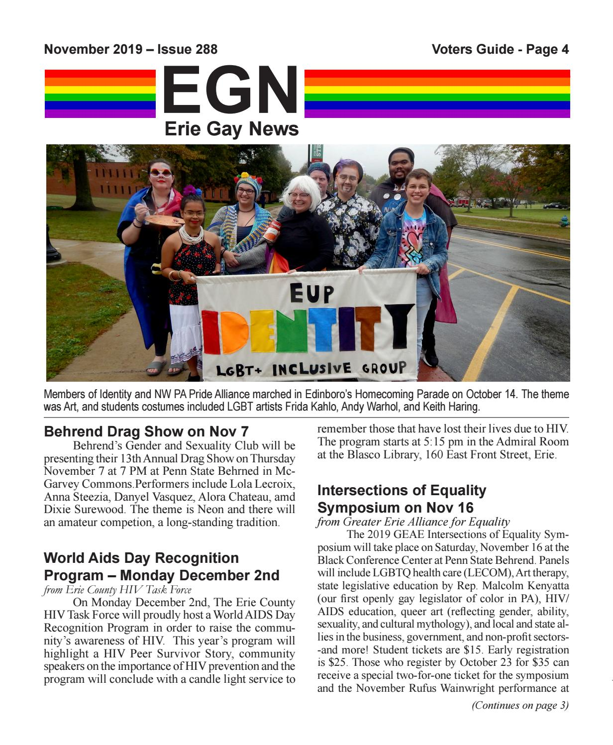2019 11 Egn By Erie Gay News Issuu