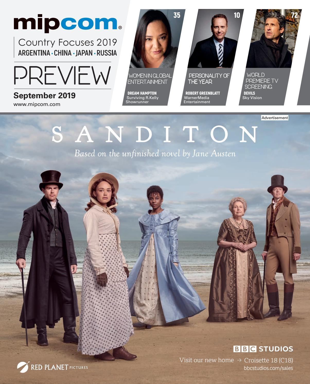 MIPCOM 2019 PREVIEW MAGAZINE by MIPMarkets - issuu