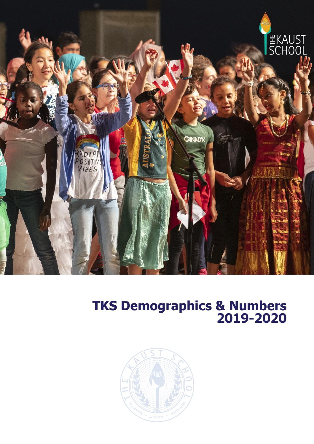 The Kaust School Demographics And Numbers 2019 2020 By The Kaust School Issuu