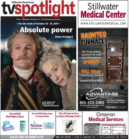TV spotlight 10 20 19 by Stillwater News Press issuu