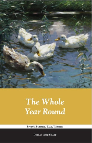 The Whole Year Round by Libraries of Hope - issuu