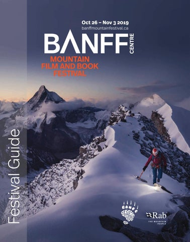 Admirable 2019 Banff Centre Mountain Film And Book Festival Program Squirreltailoven Fun Painted Chair Ideas Images Squirreltailovenorg