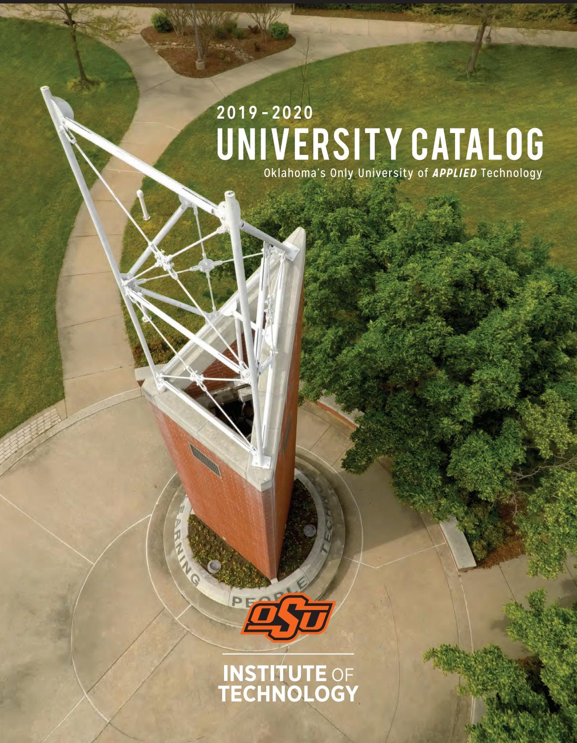 Okstate Finals Schedule Spring 2020.2019 2020 Academic Catalog By Oklahoma State Issuu