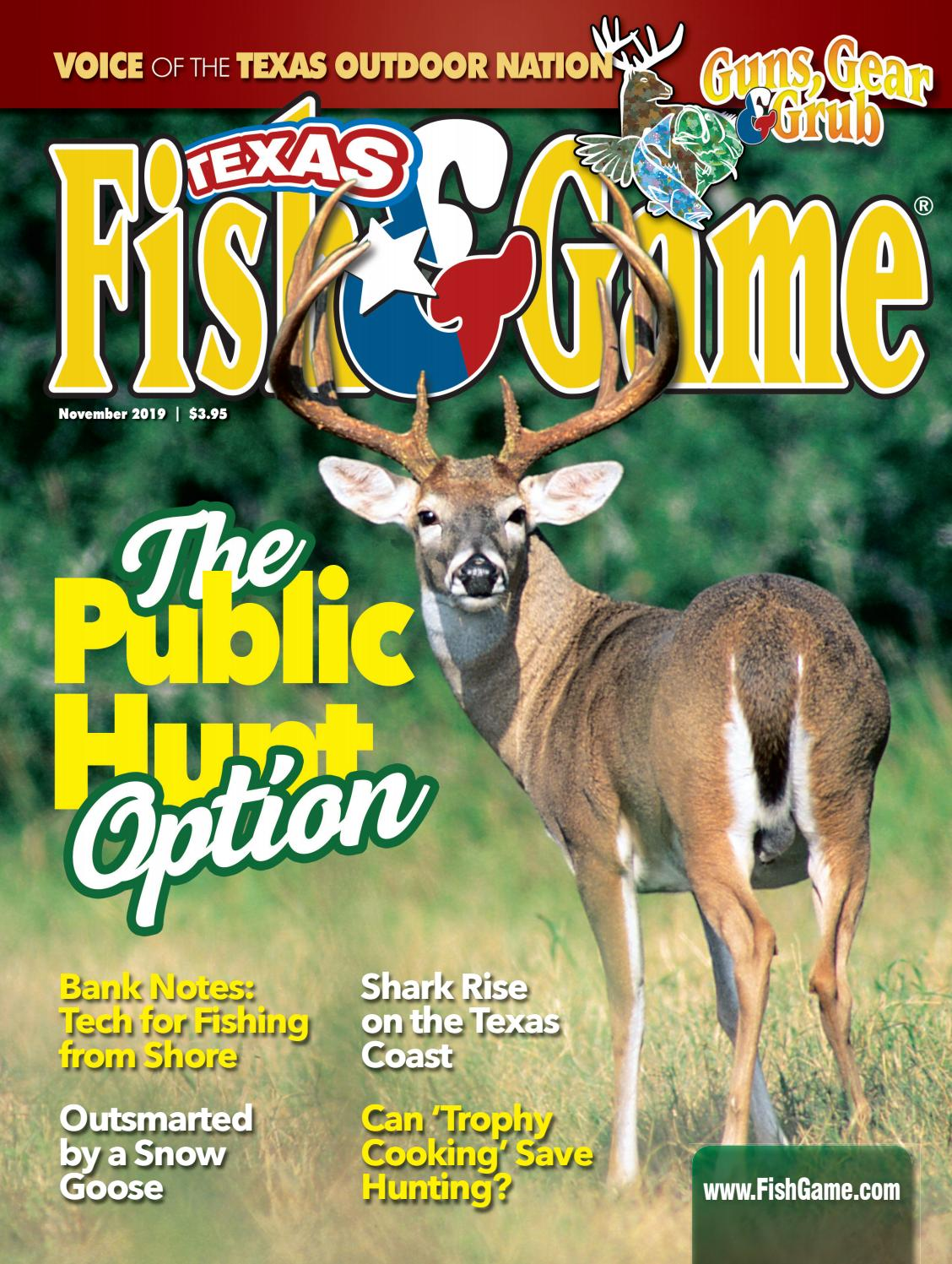 Texas Fish Game November 2019 By Texas Fish Game Issuu