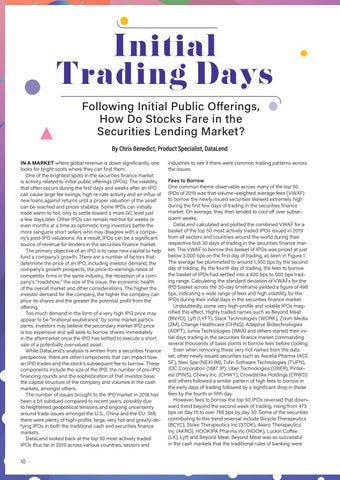 Page 10 of Initial Trading Days