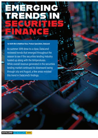 Page 18 of Emerging Trends in Securities Finance