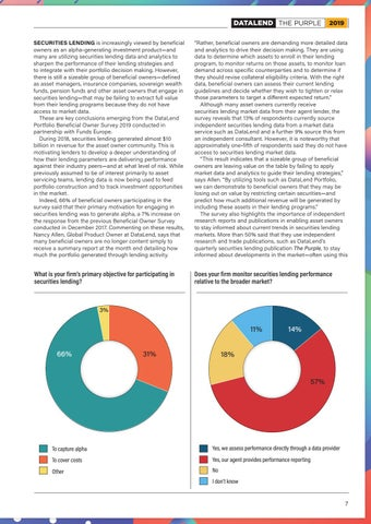Page 7 of Survey: Beneficial Owners on Data