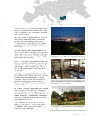 Page 13 of Delegate Adventures in Bulgaria