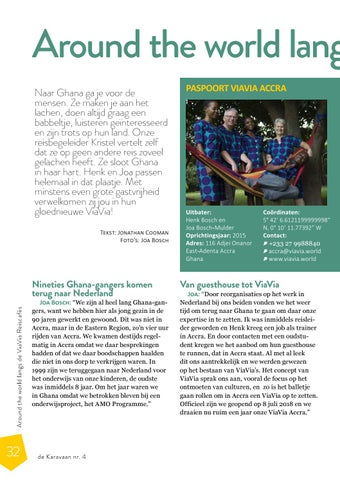 Page 32 of Around the World langs de ViaVia's: Accra