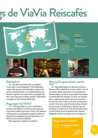 Page 33 of Around the World langs de ViaVia's: Accra