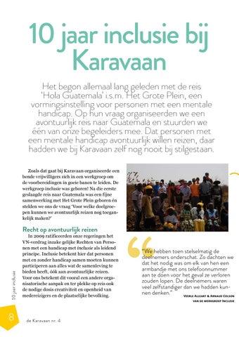 Page 8 of 10 jaar inclusie bij Karavaan