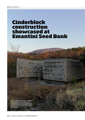 Page 34 of Cinderblock construction showcased at Emantini Seed Bank