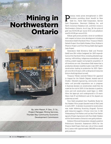 Page 8 of Mining in Northwestern Ontario