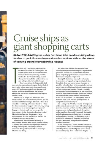 Page 15 of Cruise ships as giant shopping carts