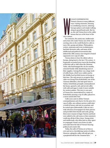 Page 27 of Exploring the cafe culture of VIENNA