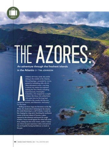 Page 32 of The Azores: An adventure through the freshest islands in the Atlantic