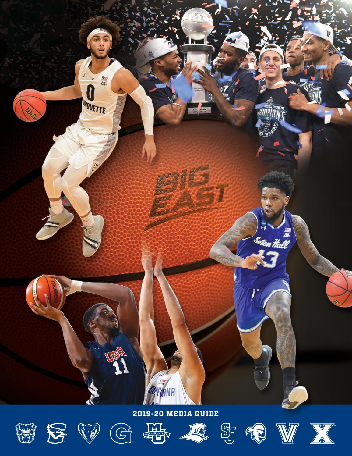 2019 20 Men S Basketball Media Guide By Big East Conference Issuu