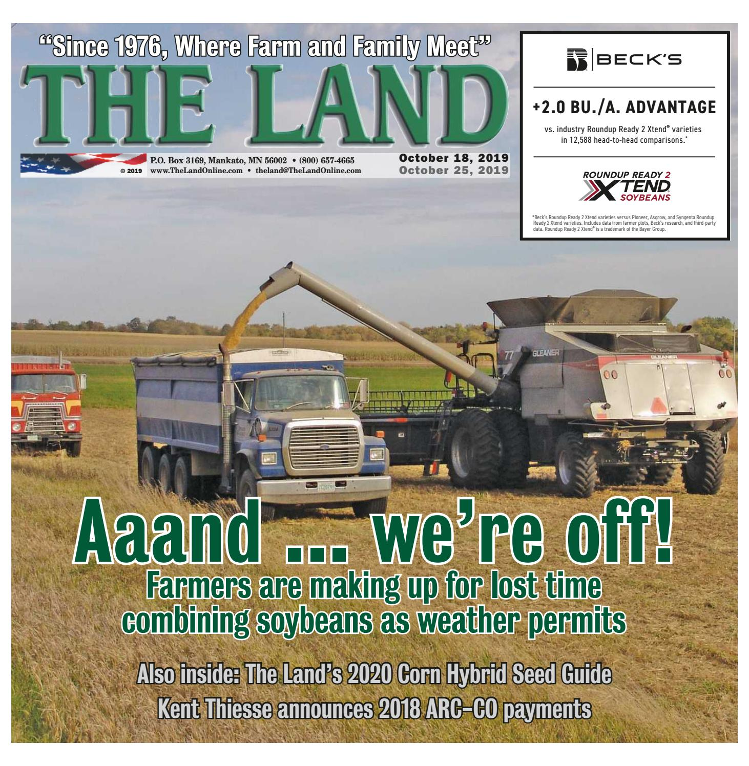 THE LAND ~ October 18, 2019 ~ Southern ...