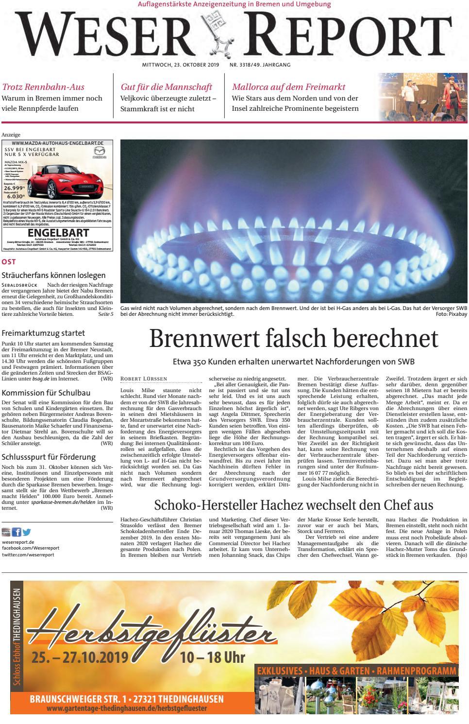 Weser Report   Ost vom 9.9.9 by KPS Verlagsgesellschaft mbH ...