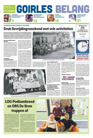 Goirles Belang 23 10 2019 By Uitgeverij Em De Jong Issuu