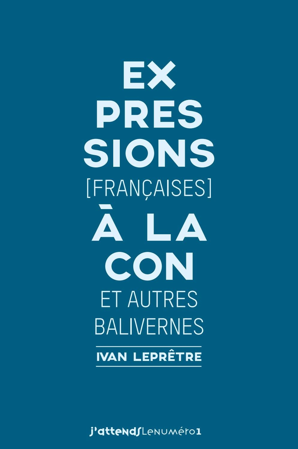 Expressions à La Con 02 By Ivan Leprêtre Issuu