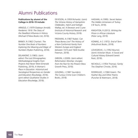 Page 170 of Alumni Information