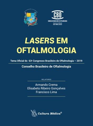 Lasers Em Oftalmologia Conselho Brasileiro De Oftalmologia By Editora Cultura Medica Issuu