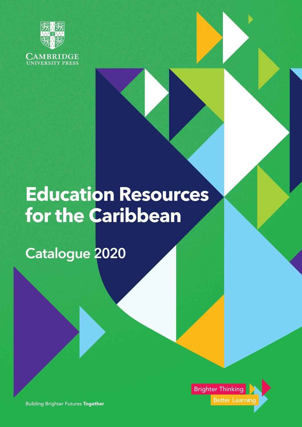 Caribbean Catalogue 2020 By Cambridge University Press