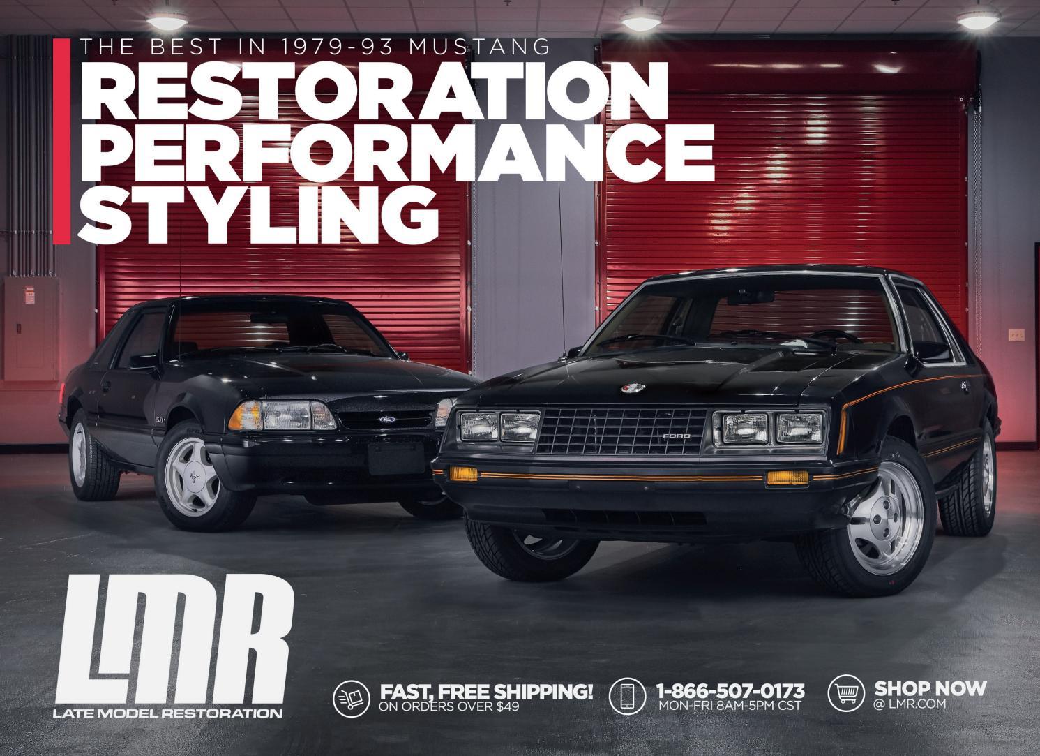 By Fox Restoration Model Body 93 Catalog Mustang 1979 Late kuiOXZPT