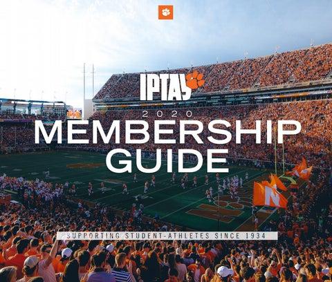 Iptay 2020 Membership Guide By Clemson Tigers Issuu