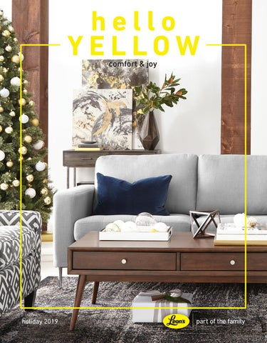 Hello Yellow Holiday 2019 By Leon S Furniture Issuu