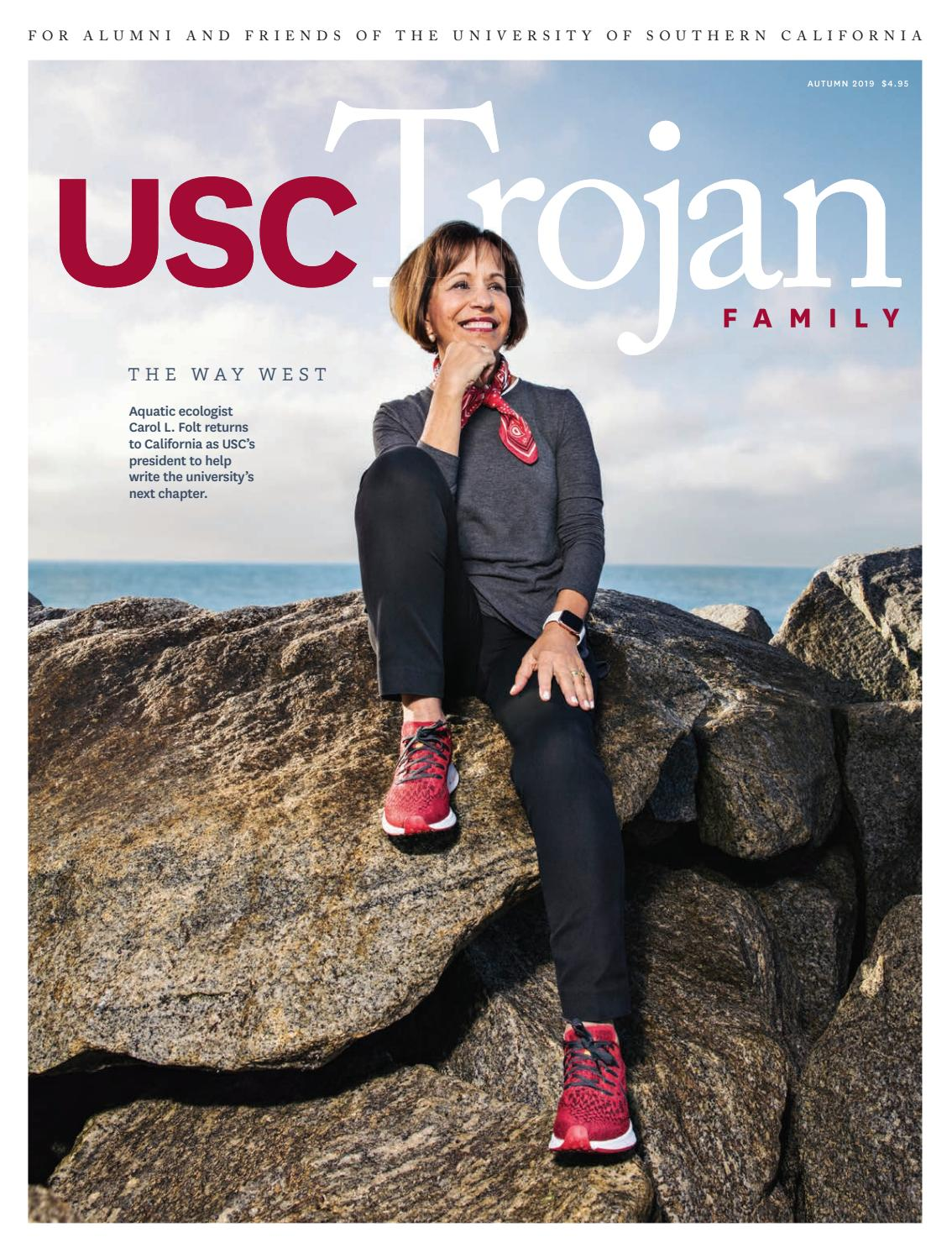 Usc Trojan Family Magazine Autumn 2019 By University Of Southern California Issuu