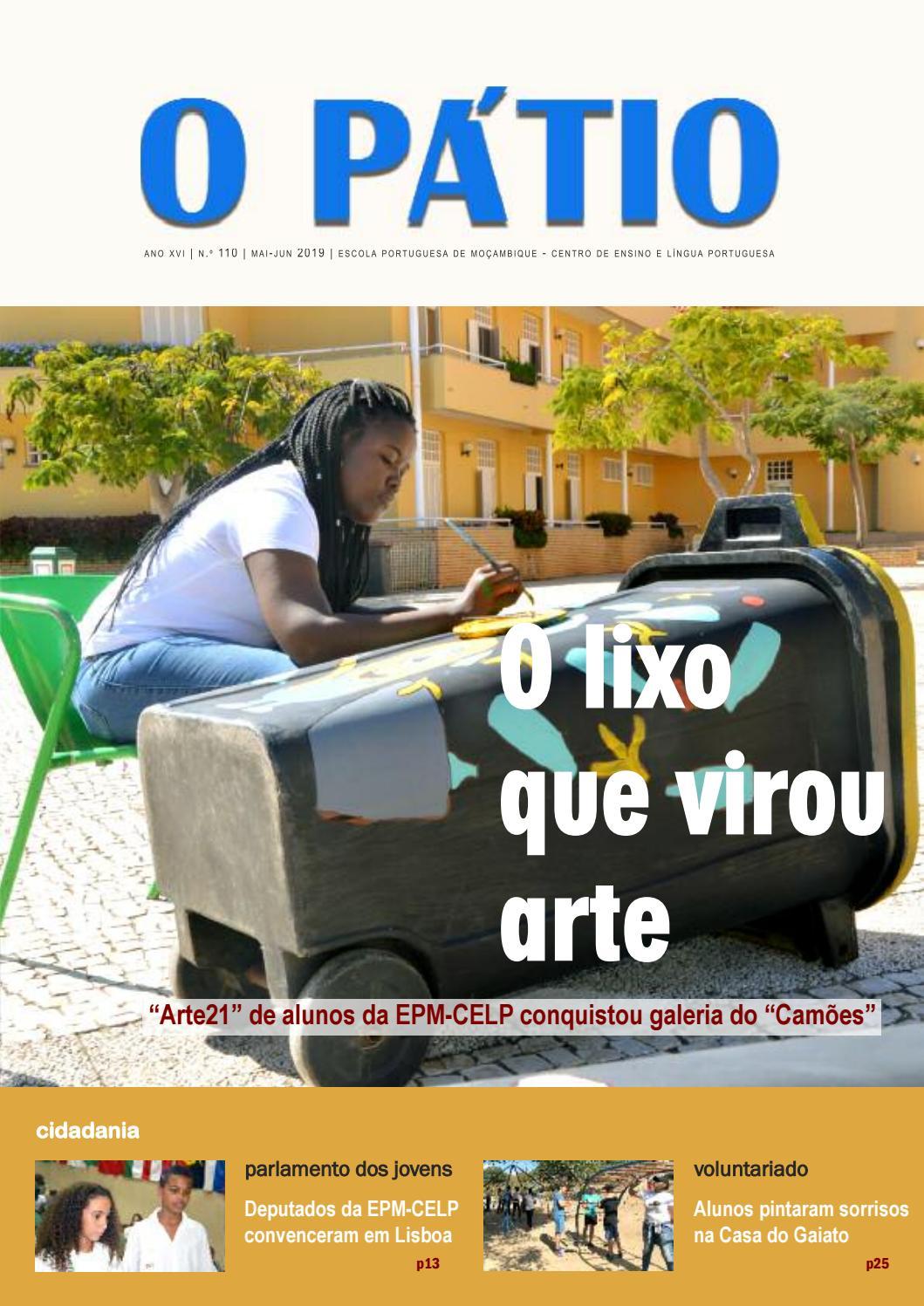 O Pátio Edição 110 By Escola Portuguesa De Moçambique