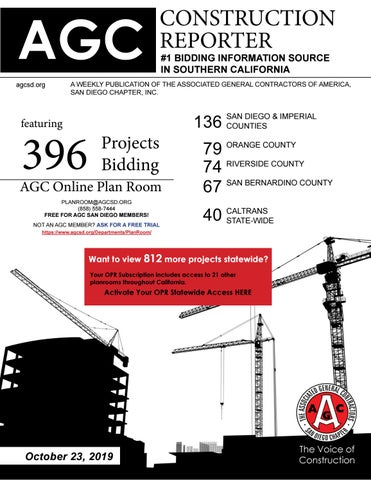Incredible Agc Construction Reporter October 23 2019 By Agc San Creativecarmelina Interior Chair Design Creativecarmelinacom