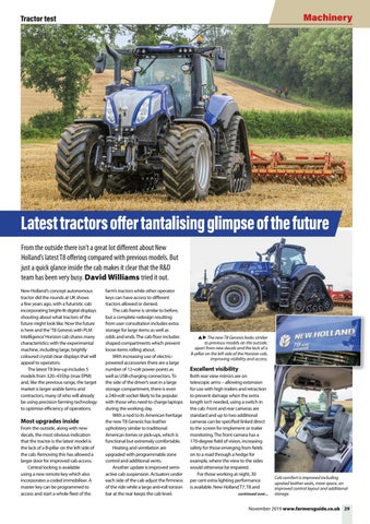 Page 29 of Latest tractors offer tantalising glimpse of the future