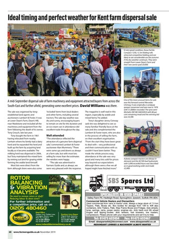 Page 68 of Ideal timing and perfect weather for Kent farm dispersal sale