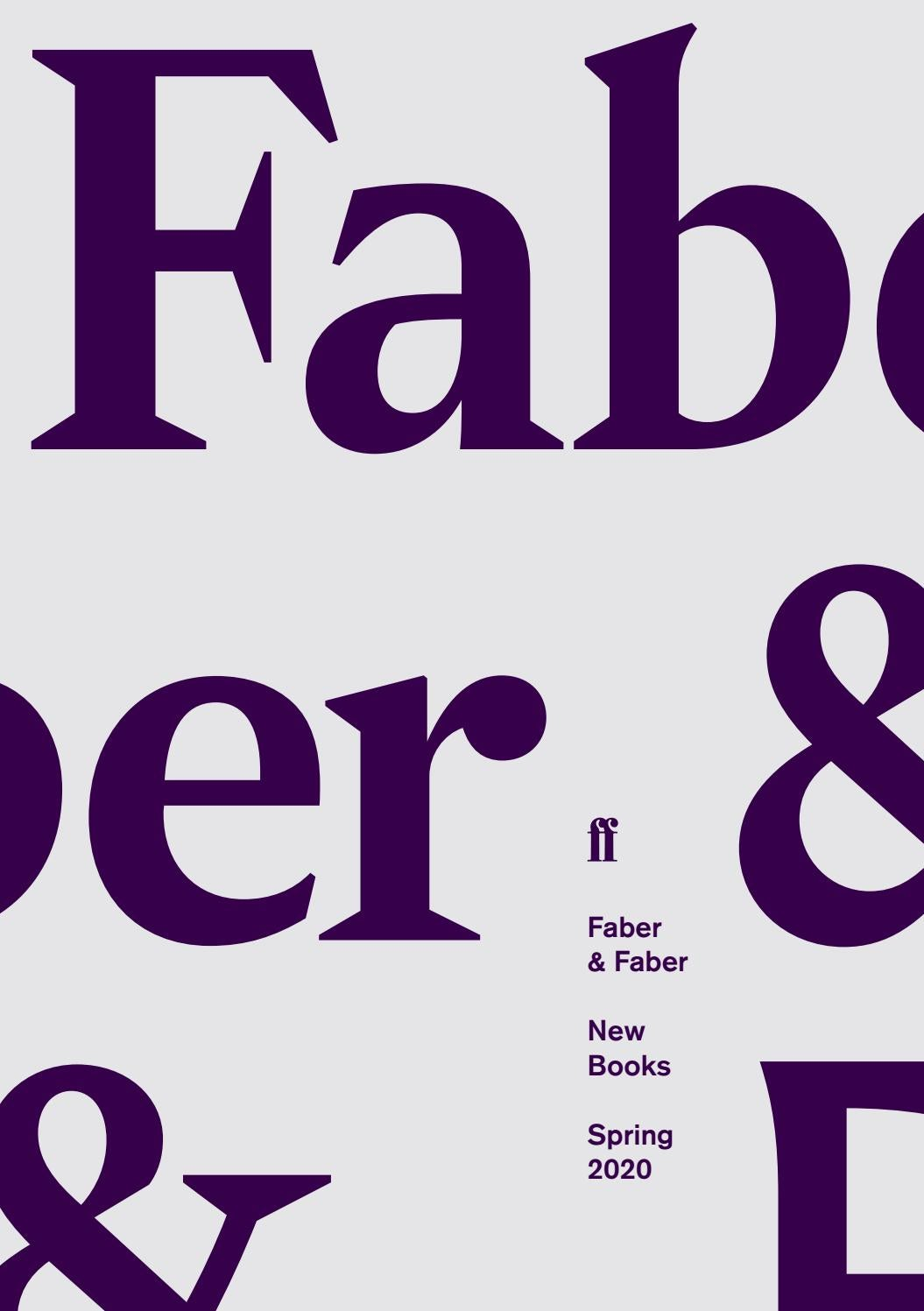Emerson College Spring 2020.Seasonal Catalogue January June 2020 By Faber And Faber