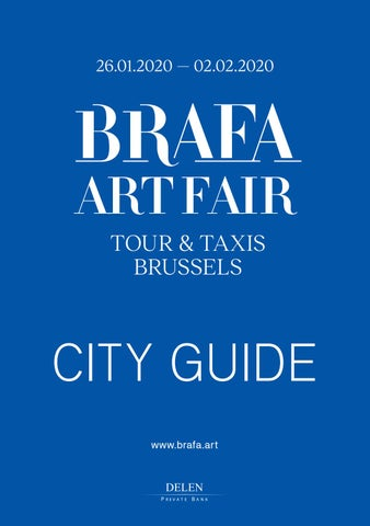 Brafa City Guide 2020 By Artsolution Sprl Issuu