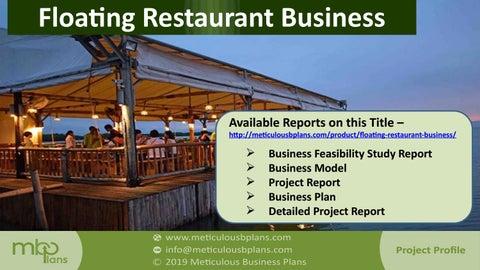 Boat restaurant business plan alexander pope essay on man interpretation