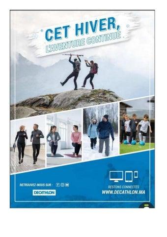 Catalogue Decathlon Maroc Hiver 2019