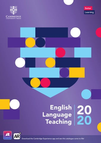 2020 Elt Cambridge University Press Catalogue Italy By