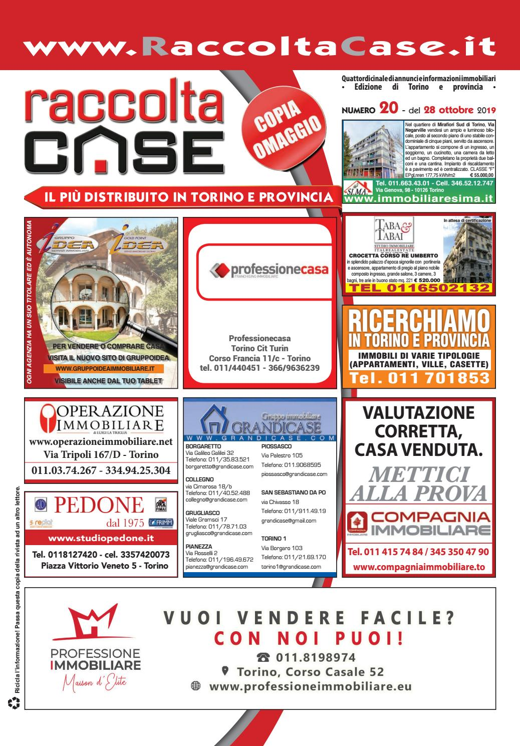 Raccoltacase Torino 20 2019 by Publidok S.r.l. issuu