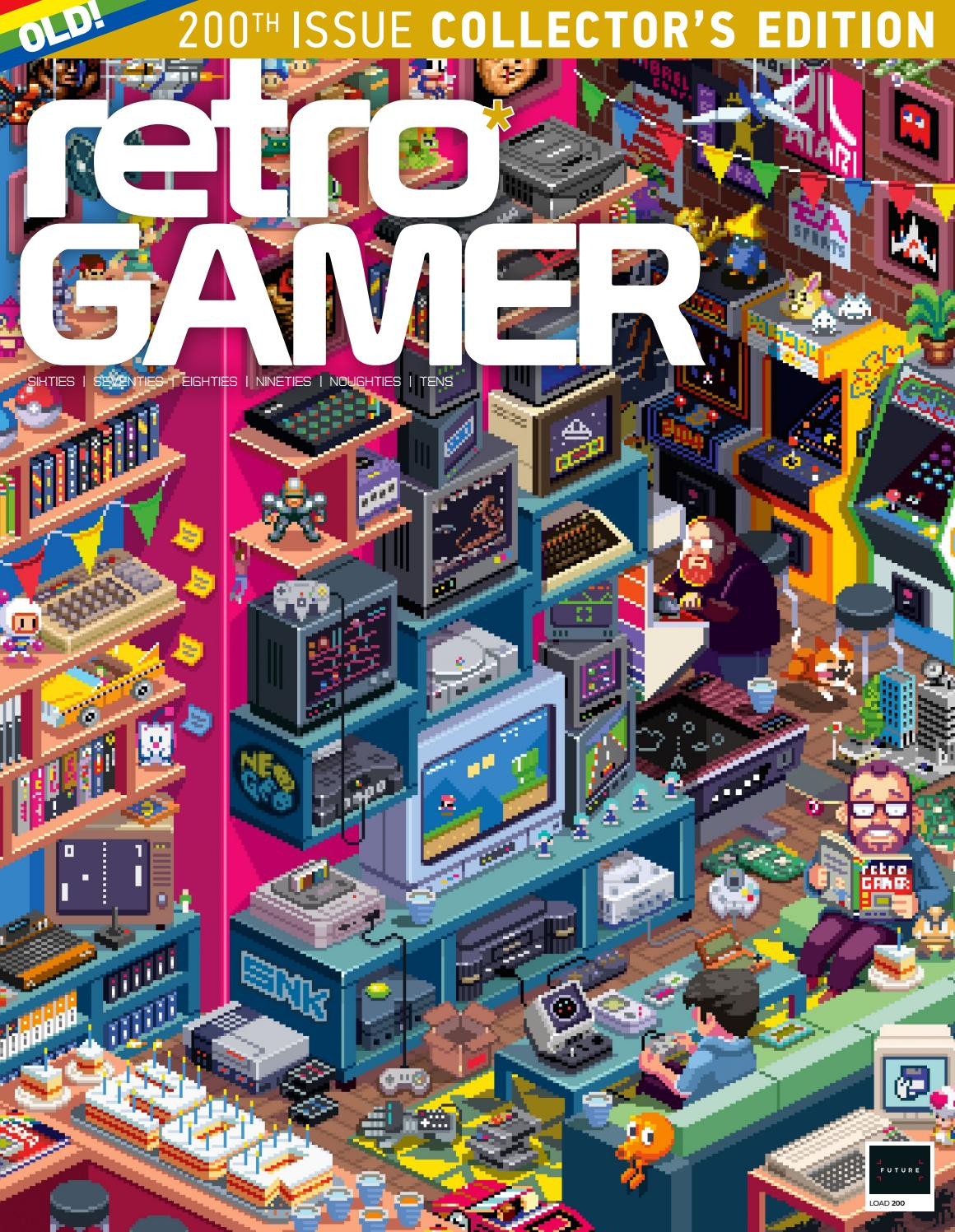 Retro Gamer 200 Sampler By Future Plc Issuu