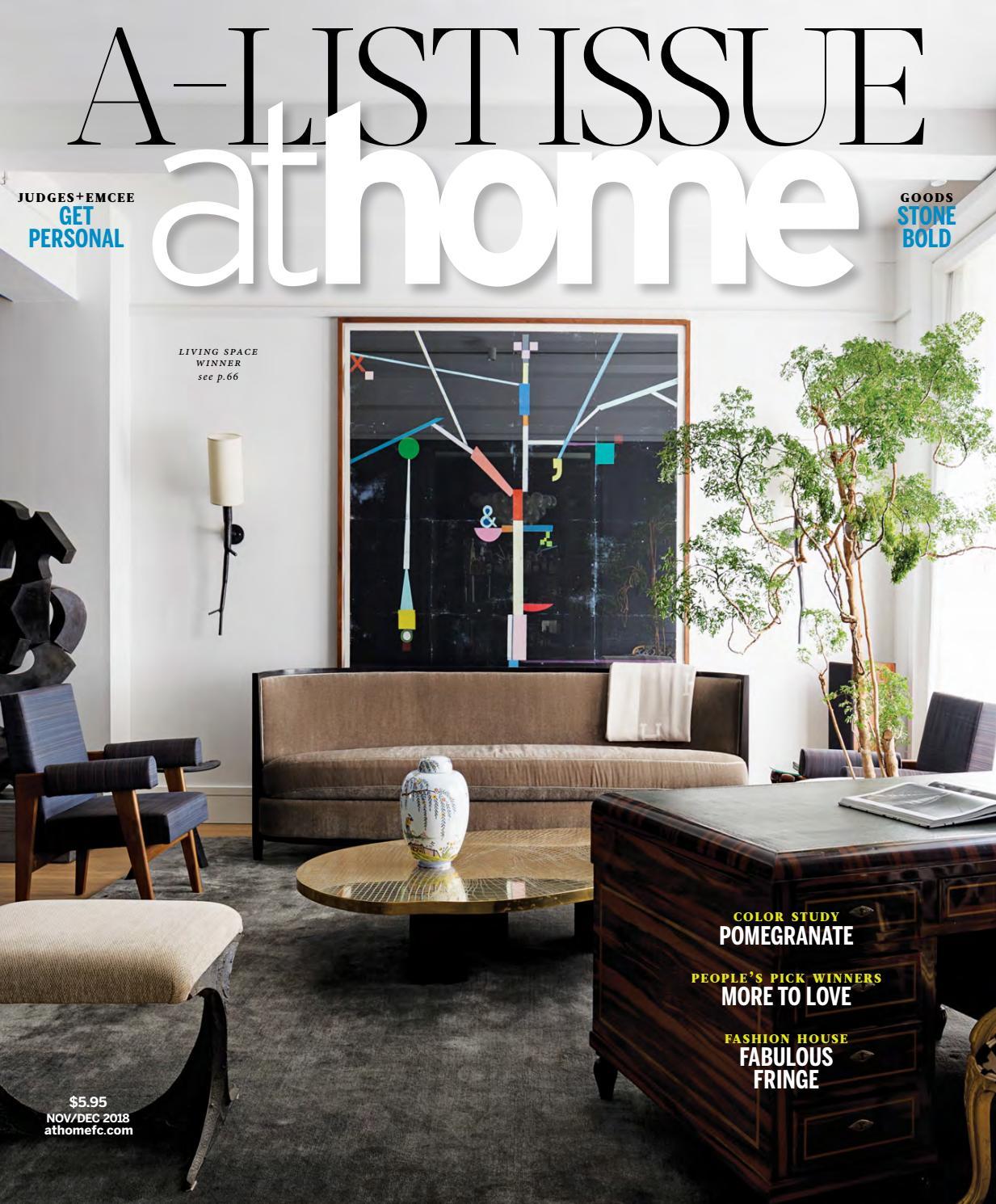 Athome Magazine November December 2018 By Moffly Media Issuu