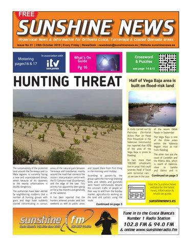 Sunshine News Issue 21 25 October 2019 By Sunshine News