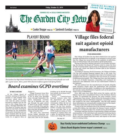 The Garden City News 10 25 19 By Litmor Publishing Issuu