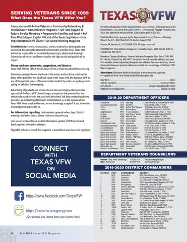 Page 4 of 2019 Texas VFW Commanders Articles