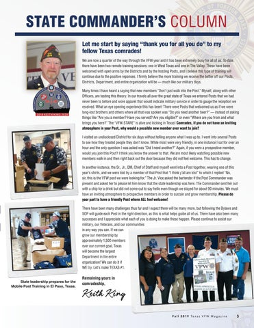 Page 5 of 2019 Texas VFW Commanders Articles