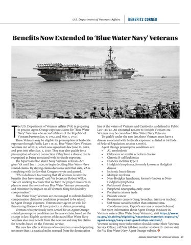 """Page 27 of Benefits Now Extended to """"Blue Water Navy"""" Veterans"""